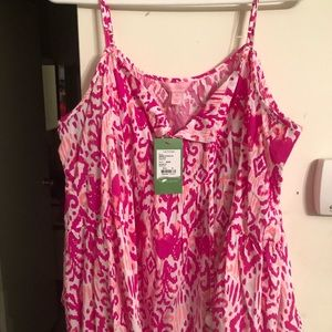 Lilly Pulitzer cami shirt